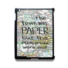 Paper Towns John Green Phonecase Cover Case For Apple Ipad 2 Ipad 3 Ipad 4 Ipad Mini 2 Ipad Mini 3 Ipad Mini 4 Ipad Air Ipad Air 2