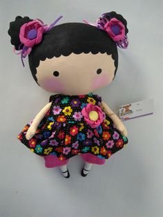 Baby Crafts, Diy And Crafts, Panduro Hobby, Tilda Toy, Homemade Dolls, Fabric Toys, Felt Patterns, Doll Tutorial, Baby Art