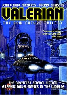 Valerian and the truth on it's cover