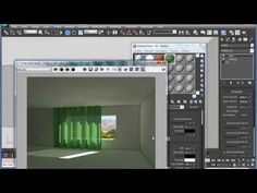 Как сделать, чтобы шторы пропускали свет. Видеоурок 3ds max и Vray - YouTube 3d Max Tutorial, Vray Tutorials, Architecture Visualization, 3ds Max, 3d Design, House Plans, How To Plan, Modeling, Adobe