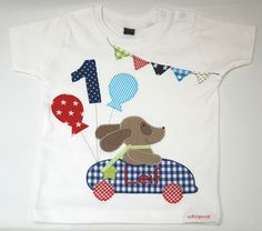 T-Shirts - Geburtstagsshirt -Hunderennen - http://de.dawanda.com/product/99570923-geburtstagsshirt-hunderennen