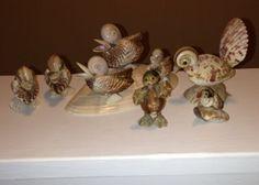 Miniature-Sea-Shell-Figurines-Set