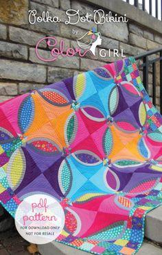 Polka Dot Bikini by Color Girl Quilts