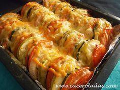 Recetas de cocina, fáciles, ricas y economicas. Cooking Tips, Cooking Recipes, Veggie Casserole, Canapes, Sin Gluten, Gluten Free, Flan, Sushi, Sausage