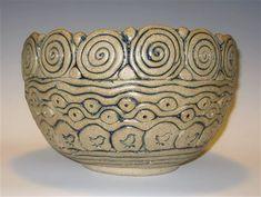 Stoneware Pottery – Handbuilt Pottery by Jim Irvine – Handwerk und Basteln Hand Built Pottery, Slab Pottery, Pottery Bowls, Ceramic Pottery, Pottery Art, Coiled Pottery, Ceramic Clay, Ceramic Bowls, Beginner Pottery