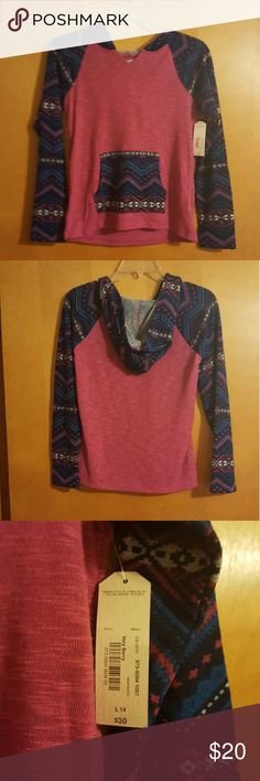 Girls hoodie NWT Girls size 14, NWT, comes from smoke/pet free home Shirts & Tops Sweatshirts & Hoodies