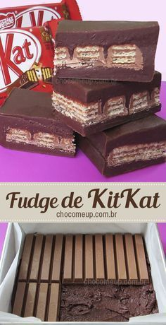Fudge Recipes, Candy Recipes, Sweet Recipes, Chocolate Pack, Chocolate Chip Bars, Chocolate Lovers, Fun Desserts, Delicious Desserts, Yummy Food