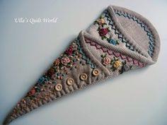 Ulla's Quilt World: Scissor case quilt + PATTERN