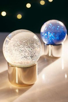 Iridescent Snow Globe - Urban Outfitters