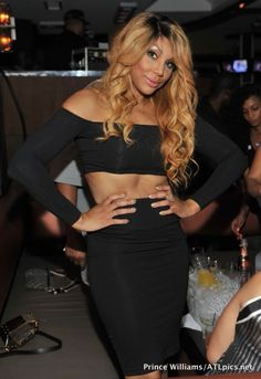 Tamar Braxton Herbert at the premiere party released Think like a man too