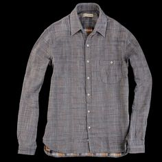 UNIONMADE - Oliver Spencer - Button Down Pocket Shirt in Farmoor Blue