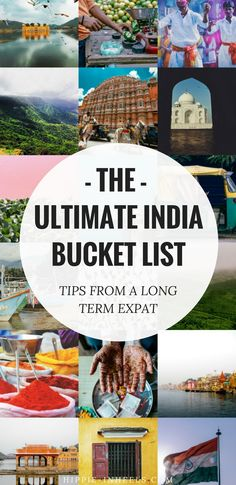 After living in Goa for a few years as an expat, here's my complete India bucket list! A total list of things to do in the country from the obvious to the more off the beaten path activities.