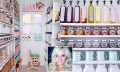 Is this millennial pink pantry the most organised ever?