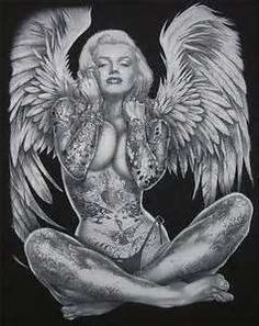 Image Search Results for tattooed betty page and Marilyn monroe