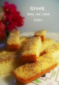 Bizcocho Griego de Miel y Limón   Mari's Cakes