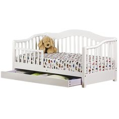 Dream On Me Toddler Daybed with Storage