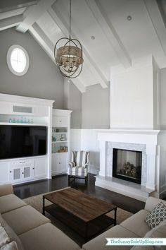 Vaulted ceiling design ideas exposed wooden beams modern for Vaulted ceiling vs cathedral ceiling