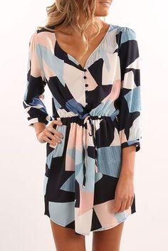 Jemima Dress Multi