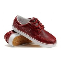 Nike Zoom Stefan Janoski SB Mens Shoes Dark Red 333824-601