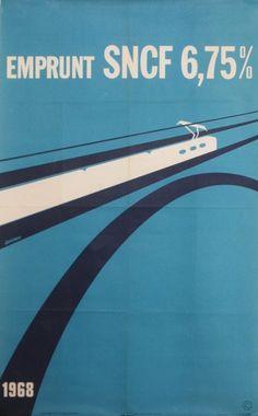 SNCF Emprunt 1968  Artist: Decroix J.  1968