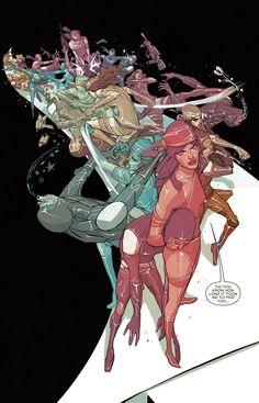 Elektra #8 by W. Haden Blackman & Michael Del Mundo