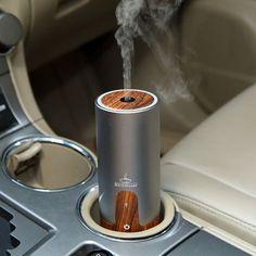 Wooden USB Car Ultrasonic Humidifier