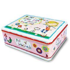 'MY LITTLE BOX OF SECRET TREASURES' TIN-£6.99