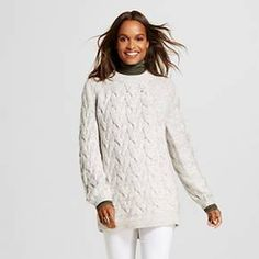 Women's Marled Cable Pullover Sweater Pink XL - Merona™ : Target
