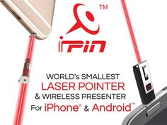 iPin™: Laser Pointer + Wireless Presenter for iOS & Android's video poster
