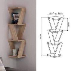 """2,008 curtidas, 19 comentários - artesanato_central 🏺 (@artesanato_central) no Instagram: """"Nicho rústico, muito bacana🤩 . 🛠Descubra como fabricar moveis de pallets de forma facil para…"""" Diy Furniture Projects, Diy Furniture Plans, Home Decor Furniture, Wood Projects, Woodworking Projects, Furniture Design, Woodworking Plans, Woodworking Videos, Outdoor Projects"""