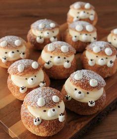 Cute Baking, Kawaii Dessert, Good Food, Yummy Food, Food Garnishes, Fancy Desserts, Cafe Food, Food Humor, Aesthetic Food