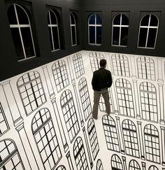 Regina Silveira's Illusion Art