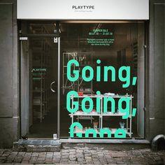 "PLAYTYPE, Kobenhavn V, Denmark, ""SALE Window Inspiration"", pinned by Ton van der Veer"