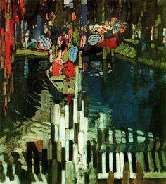 """""""Les touches de piano"""" by Frantisek Kupka."""