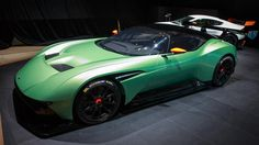 This year's Geneva auto show features a cavalcade of extremely high performance, exotic cars, from the horsepower hybrid Koenigsegg Regera to the limited edition Aston Martin Vulcan. Aston Martin Vulcan, Ride 2, Car Racer, Geneva Motor Show, Car Photos, Custom Cars, Concept Cars, Dream Cars, Super Cars