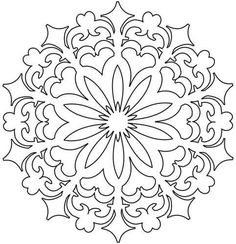 Printable Printable Mandala Stencil With Template Border : Printable Printable Mandala Stencil With Template Border Ideas Gallery : Free Coloring Pages for Kids Rangoli Colours, Rangoli Patterns, Stencil Patterns, Rangoli Designs, Embroidery Patterns, Rangoli Ideas, Block Patterns, Mandala Coloring Pages, Colouring Pages