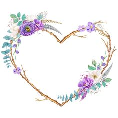 Flower Background Wallpaper, Gold Background, Flower Backgrounds, Background Patterns, Wallpaper Backgrounds, Frame Floral, Flower Frame, Flower Art, Heart Flower