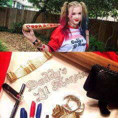 DIY Kids Harley Quinn Costume