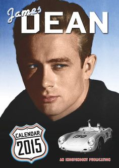 Calendario James Dean, 2015 Calendario 2015 con la imagen del guapísimo actor James Dean.