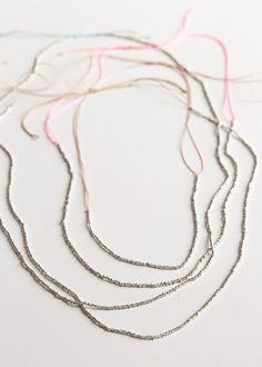 Adjustable Sterling Silver Necklaces   Purl Soho