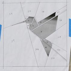 Paper Pieced Origami Hummingbird Pattern