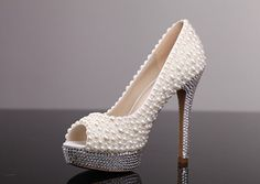 Hey, I found this really awesome Etsy listing at https://www.etsy.com/listing/189032382/pearl-wedding-shoes-ivory-pearl-bridal