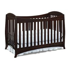Ovale crib in espresso from babies r us