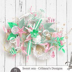 Scraps by Jessica art-design: Sweet sea by Celinoa's Design
