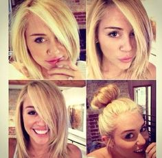Hair Miley Cyrus, cute!