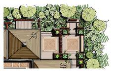 pocket garden, freehand landscape