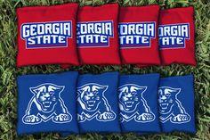 Cornhole Bag Logo Set - Georgia State University Panthers 17783