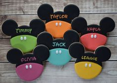 Mickey Mouse Cookies Minnie Mouse Cookies by FlourishCookies