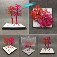 Copper wire tree #철사공예 #와이어아트 #와이어공예 #WireArt #WireCrafts #ワイヤーアート #針金細工 #はりがねさいく #Wiretree #WireWood #树 #에나멜선 #漆包线 #EnamelWire #エナメルワイヤ