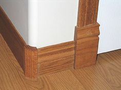 FaVer Wood Products is your source for custom wood molding accessories. Give your home a unique touch with wood baseboard corners, decorative wood rosettes and baseboard plinths. How To Install Baseboards, Wood Rosettes, Plinth Blocks, Baseboard Trim, Craftsman Trim, House Trim, Wood Molding, Trim Work, Moldings And Trim